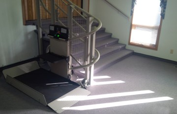 Wheelchair Lift #2 Sept 19, 2013