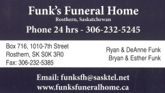 Funk's Funeral Home Ltd.